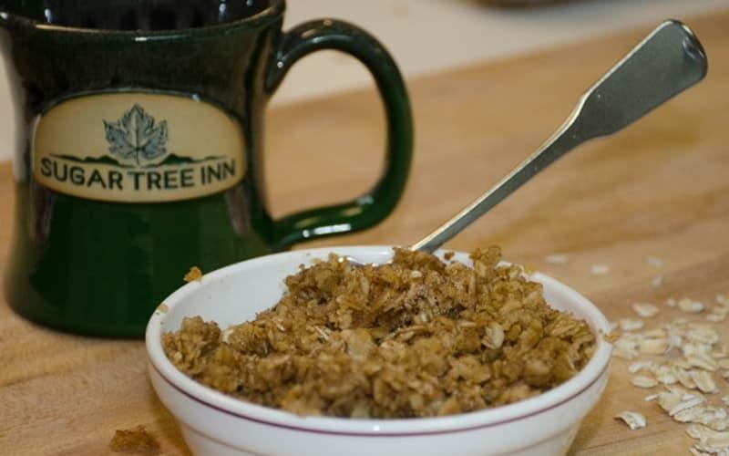 Sugar Tree Inn's Super-Secret Baked Oatmeal Recipe Revealed