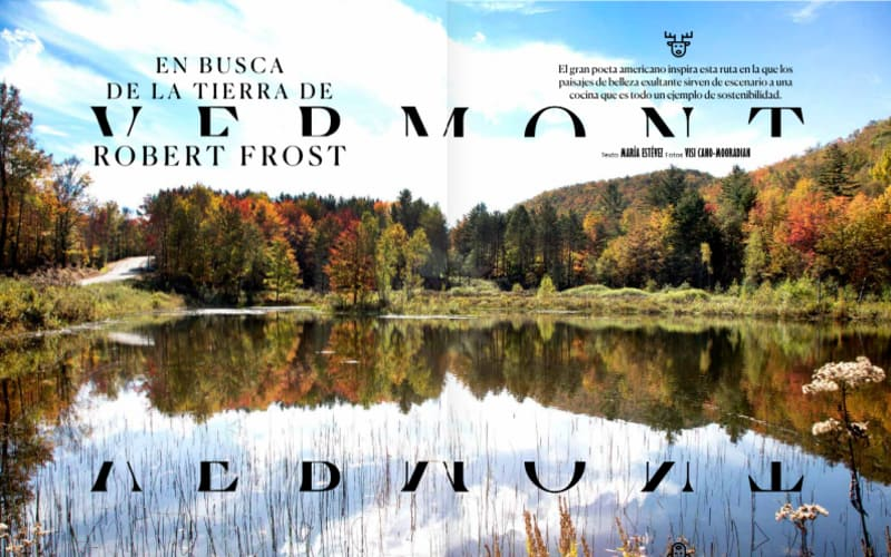 Conde Nast Visits Vermont