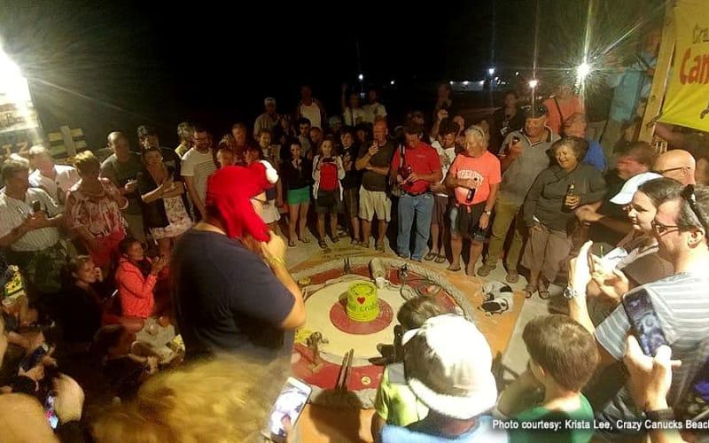 San Pedro, Belize on Tuesday Nights