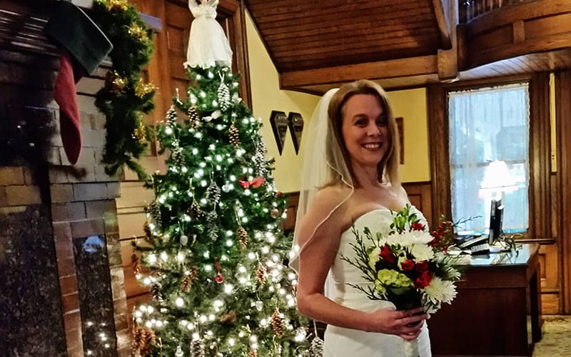 Christmas-time Bride