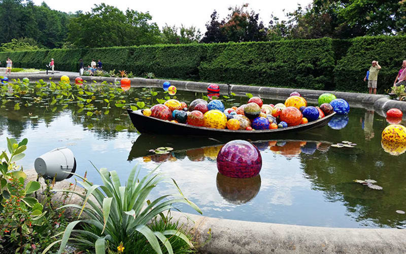 Visiting Chihuly at Biltmore