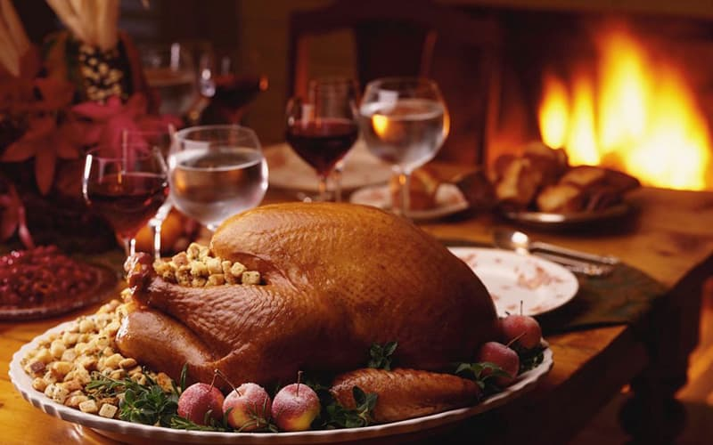 Thanksgiving Dinner at the Albemarle Inn