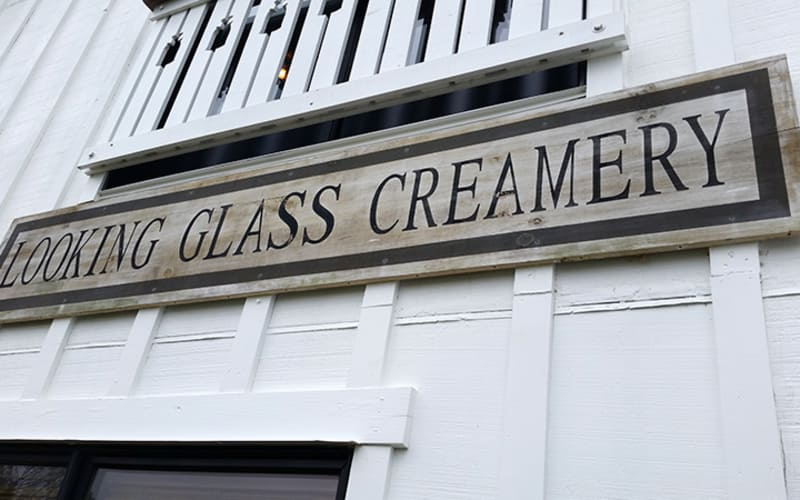 A Visit to Looking Glass Creamery