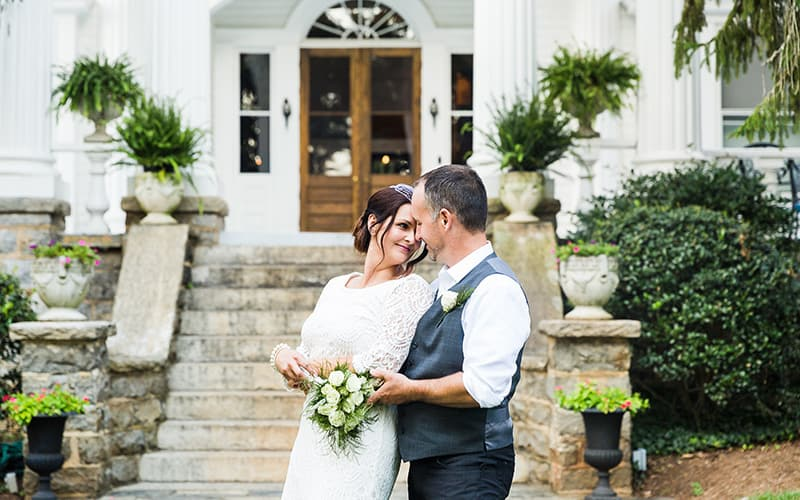 Selina & Todd's Albemarle Inn Wedding