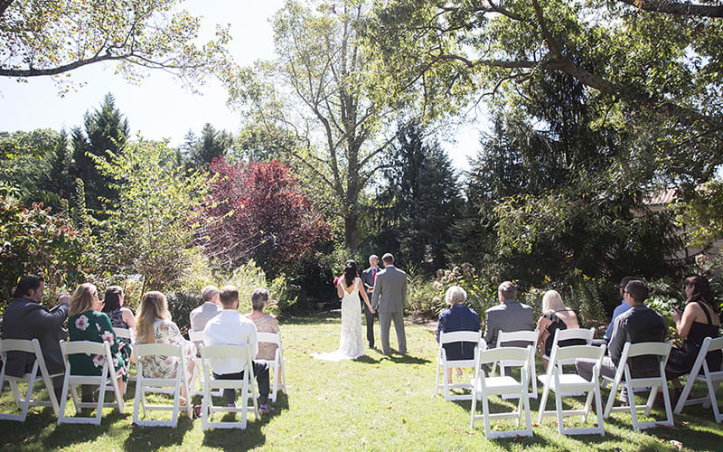 Garden Wedding Views