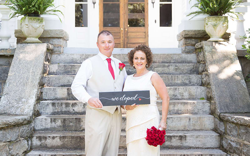 Albemarle Inn Elopement: Tammy and John