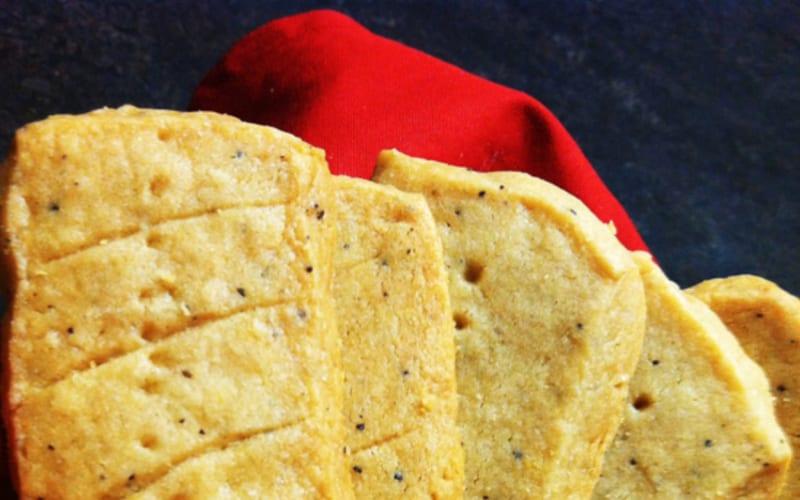 Espresso Shortbread Recipe from Rosemary's Kitchen