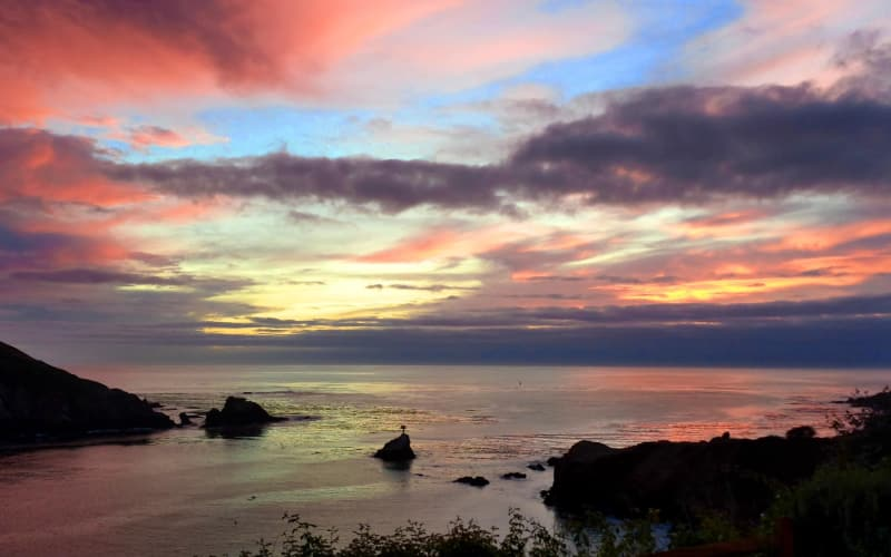 10 Breathtaking Albion River Inn Sunset Photos