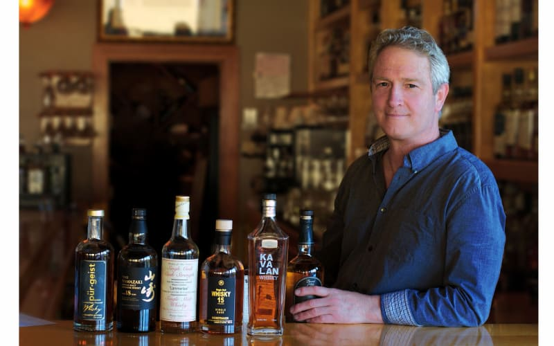 The Man Behind the Best Whiskey Bar in Northern California