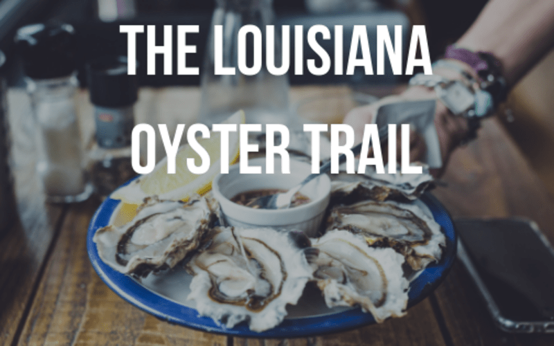 The Louisiana Oyster Trail
