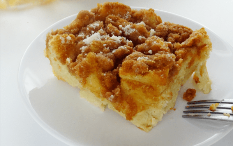Baked French Toast Recipe - or Getting Together With Family