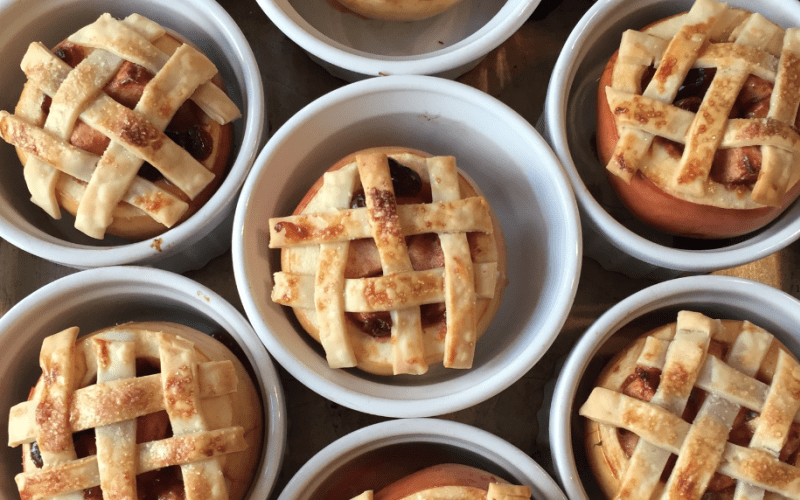 Lattice Baked Apple Recipe
