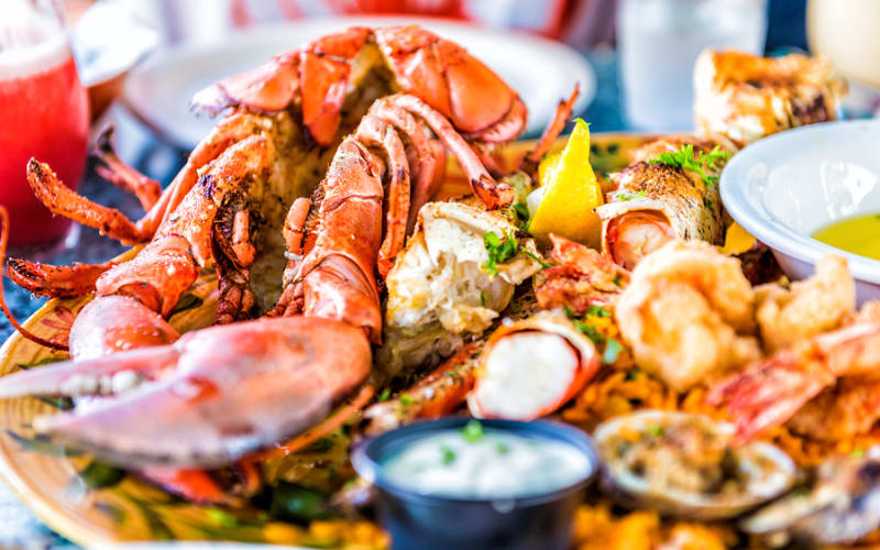 Seafood Festival in St. Augustine in March