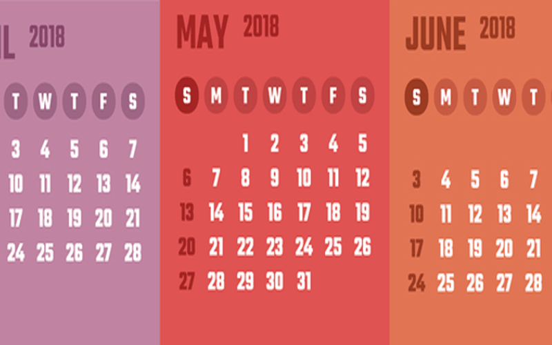 April May June 2019