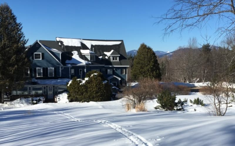 Spring Skiing and Snowshoeing at the Darby Field Inn