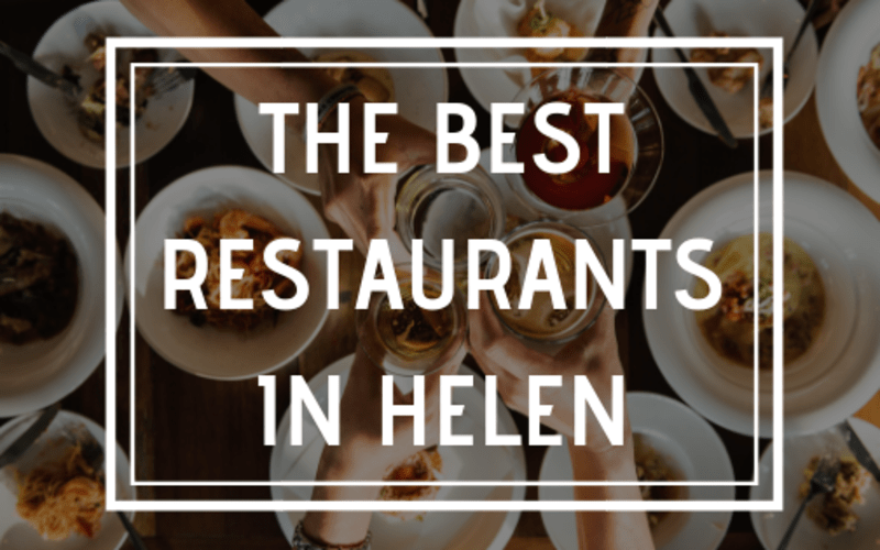 The Best Restaurants in Helen
