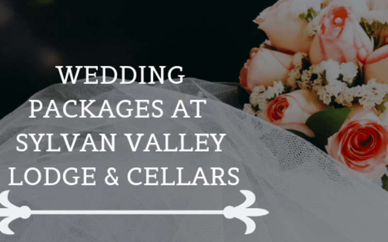 Wedding Packages at Sylvan Valley Lodge