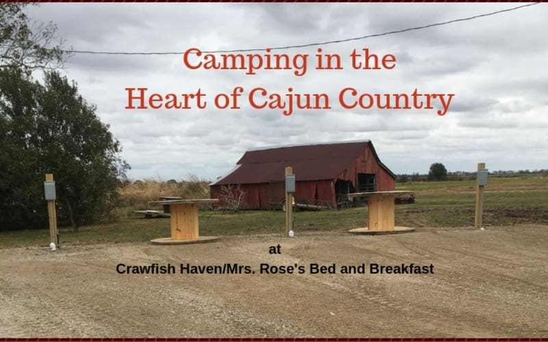 Camping in the Heart of Cajun Country
