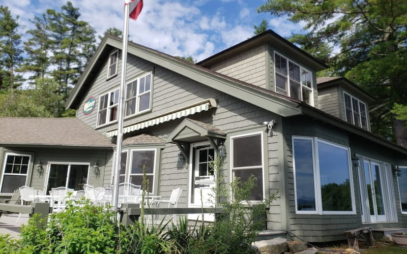 Main Lodge Deck