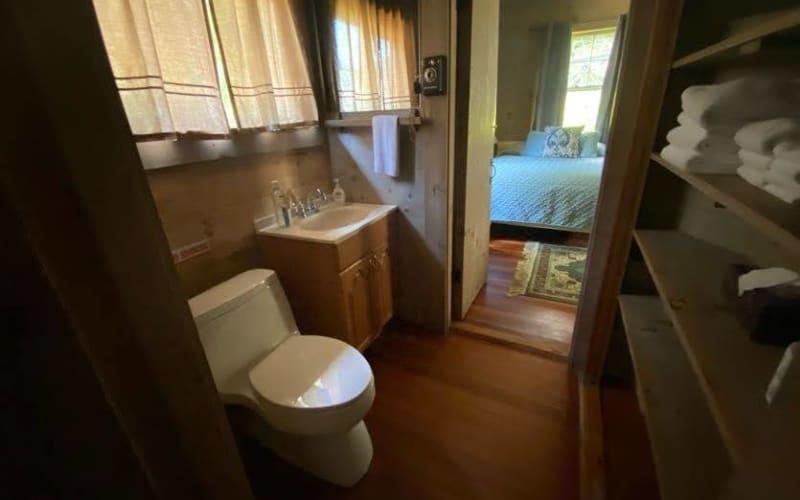 Half Bath between Room 2 and 3