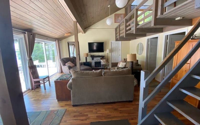 Ice House Living Room