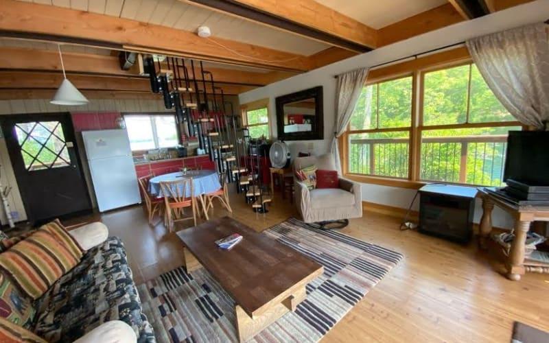 AFrame Living Area / Kitchen