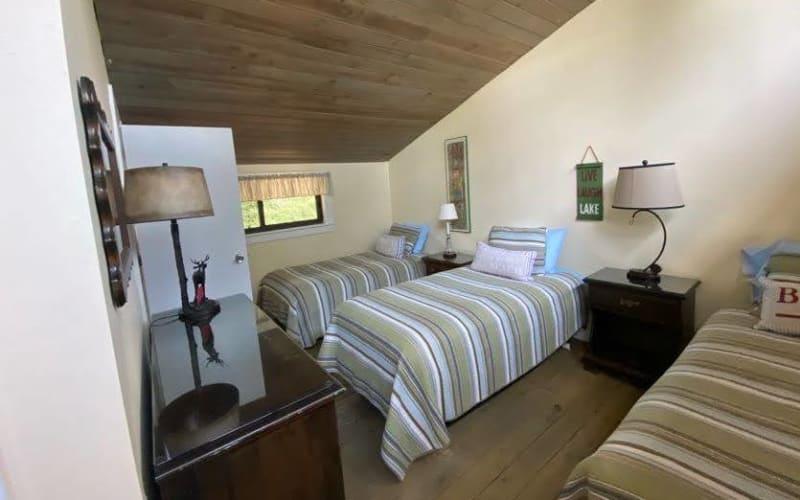 Second Floor Open Concept Bedroom