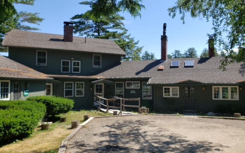 Main Lodge Entry