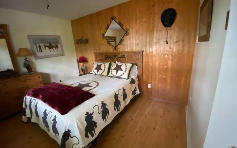 Bedroom 5 - Cowboy Room - Second Floor