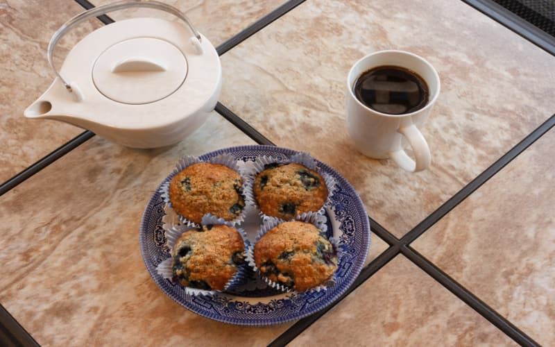 We love to bake fresh muffins!