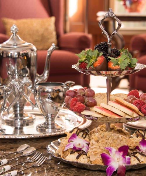 Tea & Pastry Scene
