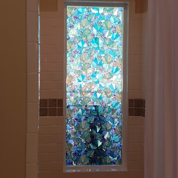Window in the shower room