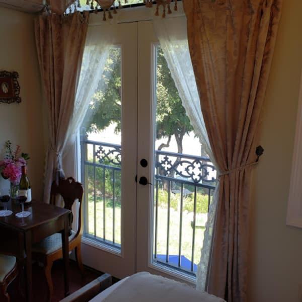 Juiliette Balcony view!