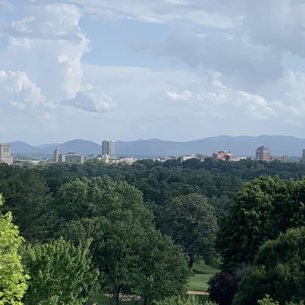asheville city skyline