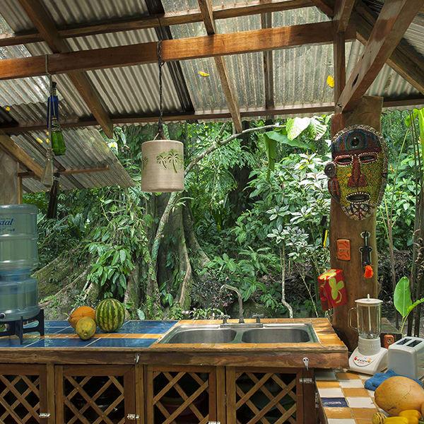 Dream Nature House - Kitchen Area