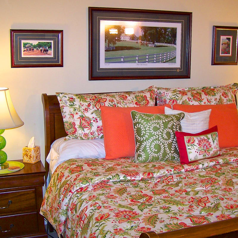 King Bed with Pillow-Top mattress