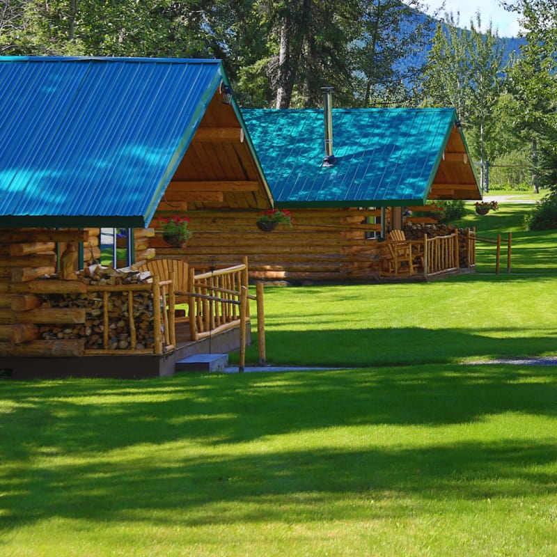 Log Cabins for rent in Alaska