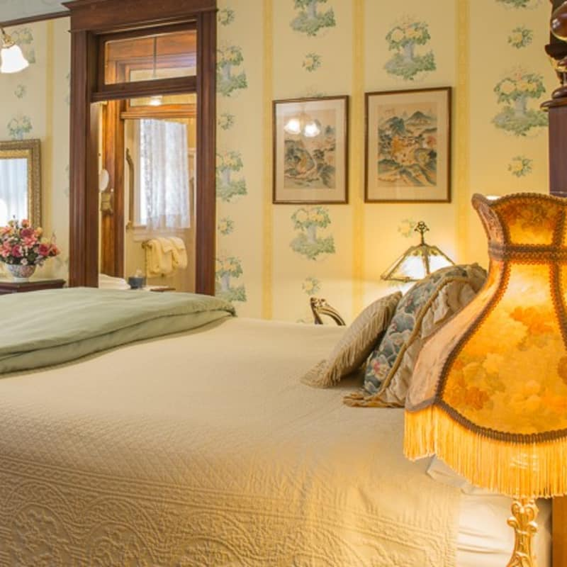 This is the Wright Suite in the 1899 Wright Inn Asheville