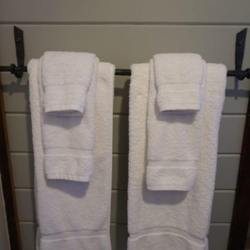 Room 26, plush towels