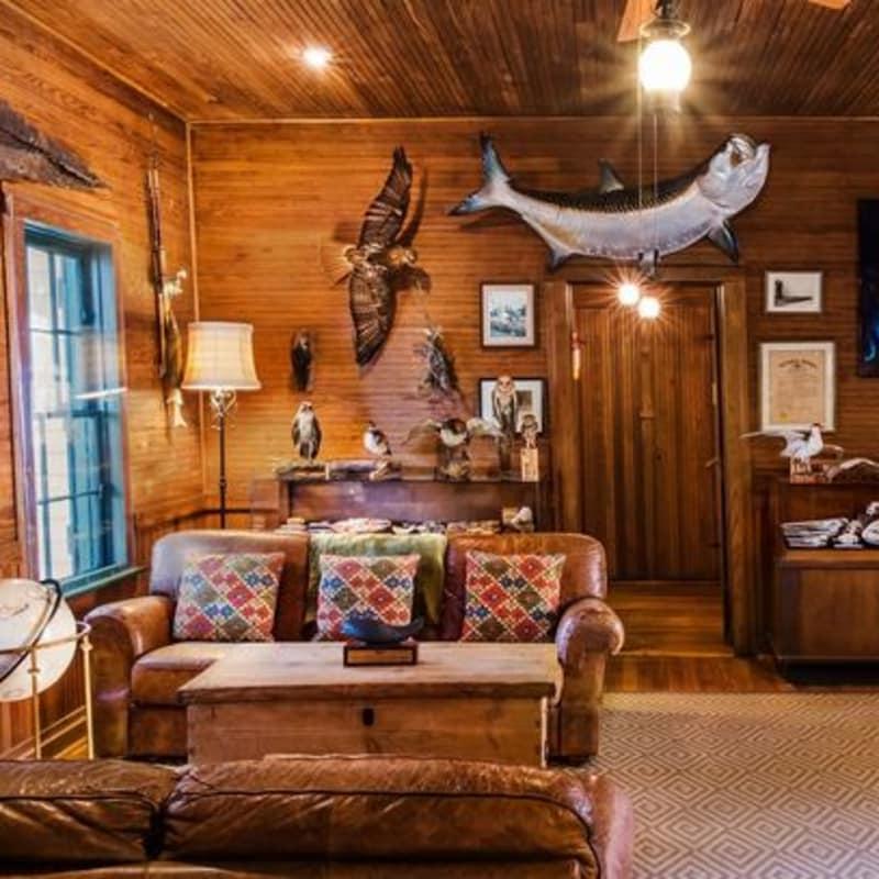 Hunting Lodge Rooms Rooms Saint Simons Island The Lodge On Little St Simons Island