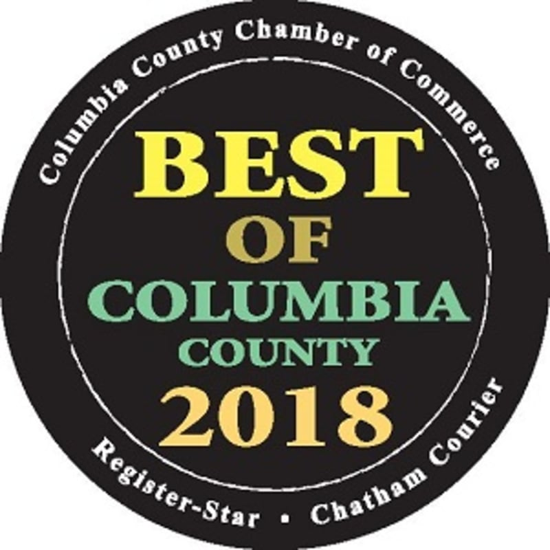 Logo of Award for being voted Best Lodging in Columbia County 2018