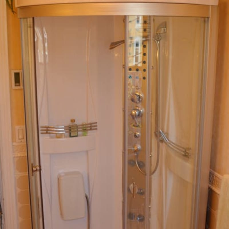 Modern Spa Shower