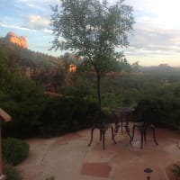 THE view from SEDONA VIEWS B&B