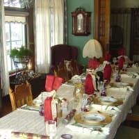 Elegant Dining Room Table Setup