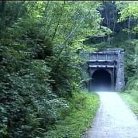 tunnel with fogg