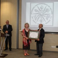 Award from the Gastronomic Academy