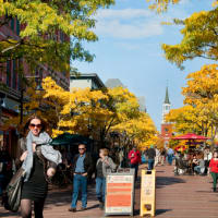 (This picture is of Church Street Marketplace where many of our boutique restaurants, bars and music venues, along with Vermont Shops...just 3 blocks away) Made INN Vermont B&B -- Burlington Vermont Bed Breakfast BB www.madeinnvermont.com  Madeinnvermontvis a Burlington Vermont Bed Breakfast, a warm home atmosphere BB in historic Queen Ann style, conveniently located in downtown Burlington, Vermont.