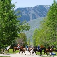 Norman Rockwell-like town Huntsville Utah