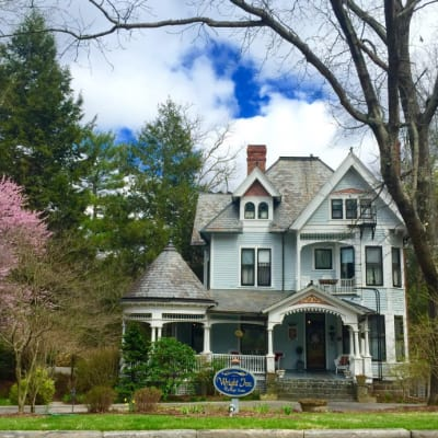 Beautiful Guest Photo of our Bed and Breakfast Inn~Asheville NC Bed and Breakfast Inn~1899 Wright Inn and Carriage House