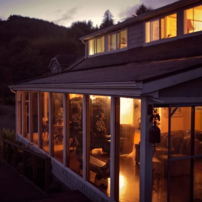 Evening at China Beach Retreat